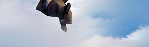 Προβολή ταινίας «Ψηλά στον ουρανό»